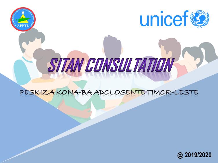 UNICEF-APFTL sei aprezenta rezultadu Peskiza SitAn Consultation ba Munisipiu