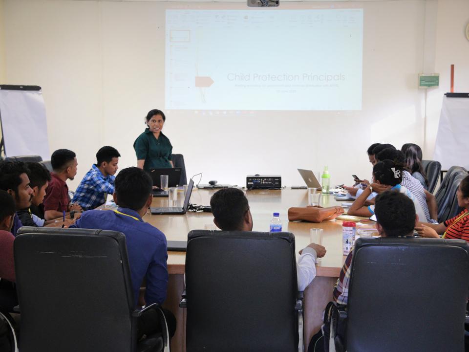 APFTL partisipa workshop Rapid institutional Assessment husi UNICEF